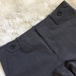Merona Grey Cuffed Wide Legged Trousers